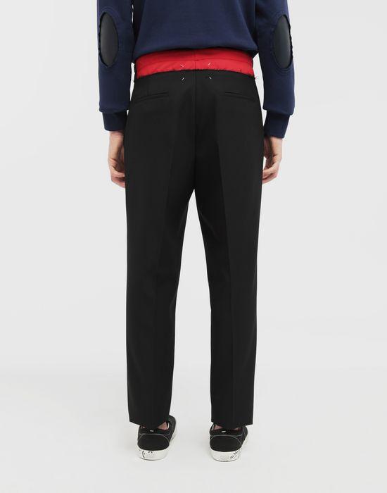 MAISON MARGIELA Spliced waistband pants Casual pants [*** pickupInStoreShippingNotGuaranteed_info ***] e