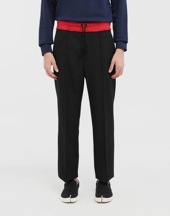 MAISON MARGIELA Spliced waistband pants Casual pants [*** pickupInStoreShippingNotGuaranteed_info ***] r