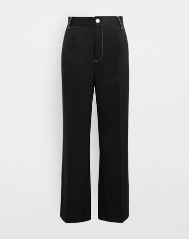 MM6 MAISON MARGIELA Casual pants [*** pickupInStoreShipping_info ***] Casual wool-blend pants f