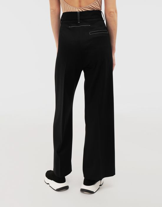 MM6 MAISON MARGIELA Casual wool-blend pants Casual pants [*** pickupInStoreShipping_info ***] e