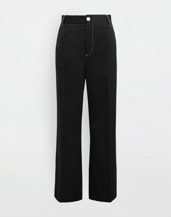 MM6 MAISON MARGIELA Casual wool-blend pants Casual pants [*** pickupInStoreShipping_info ***] f