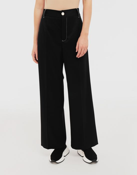 MM6 MAISON MARGIELA Casual wool-blend pants Casual pants [*** pickupInStoreShipping_info ***] r