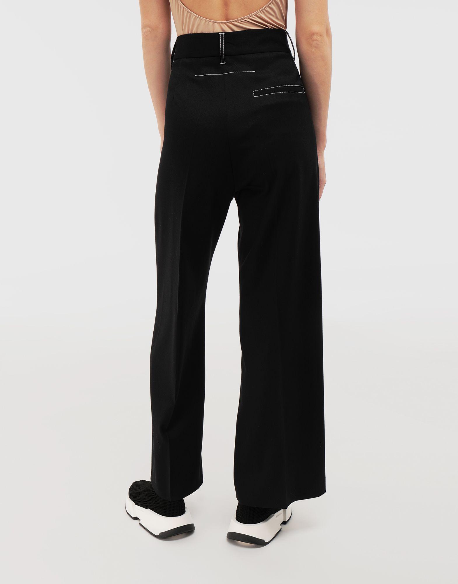 MM6 MAISON MARGIELA Casual wool-blend pants Casual pants Woman e
