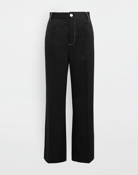 MM6 MAISON MARGIELA Casual wool-blend pants Casual pants Woman f