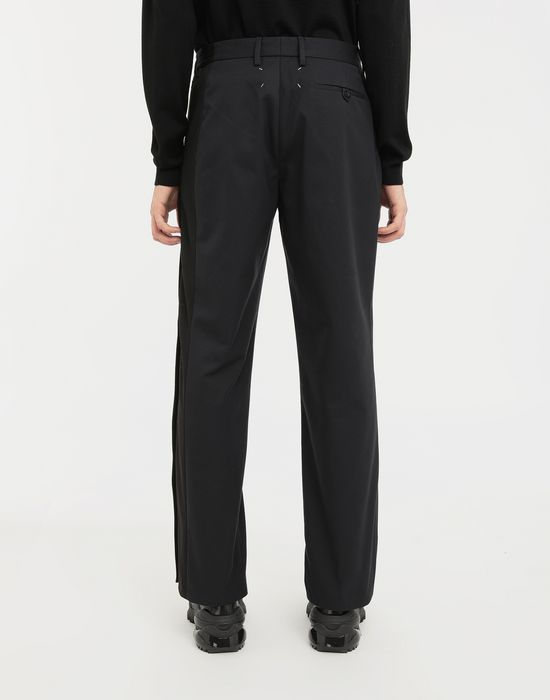 MAISON MARGIELA Spliced gabardine pants Trousers [*** pickupInStoreShippingNotGuaranteed_info ***] e