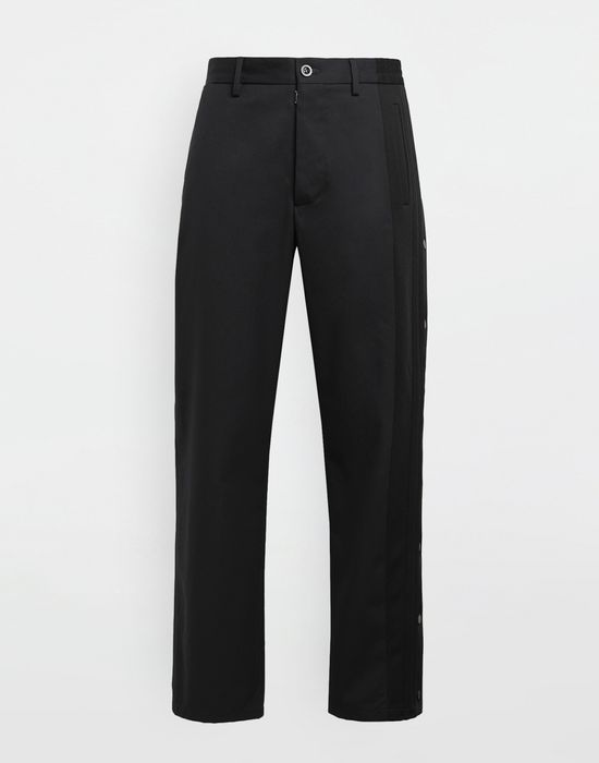 MAISON MARGIELA Spliced gabardine pants Trousers [*** pickupInStoreShippingNotGuaranteed_info ***] f