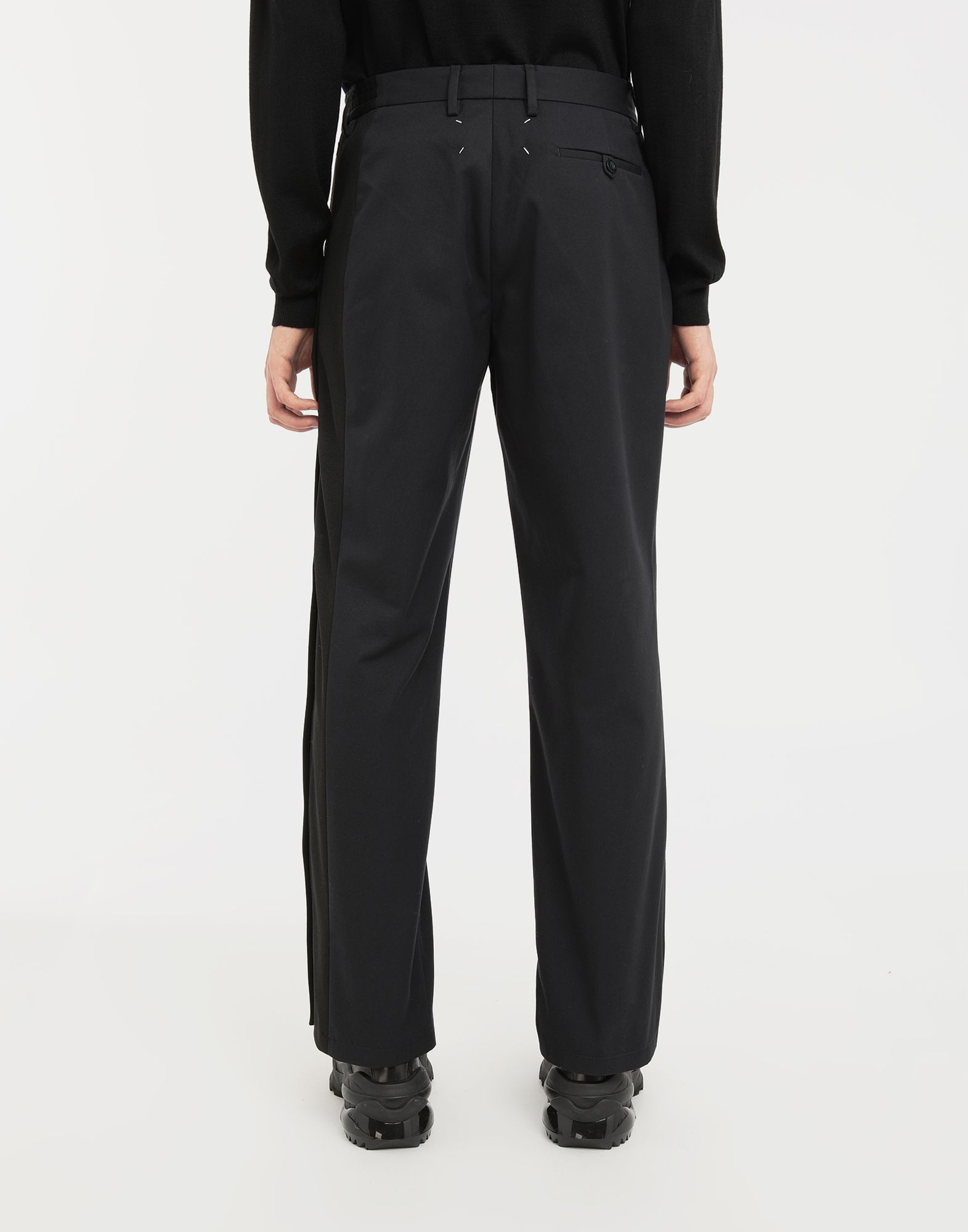 MAISON MARGIELA Spliced gabardine pants Casual pants Man e