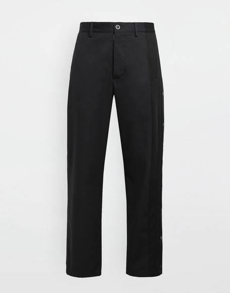 MAISON MARGIELA Spliced gabardine pants Casual pants Man f