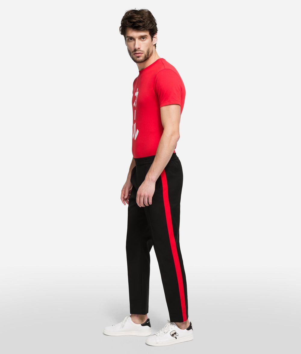 KARL LAGERFELD K/Tokyo Wool Blend Track Pants Pants Man d
