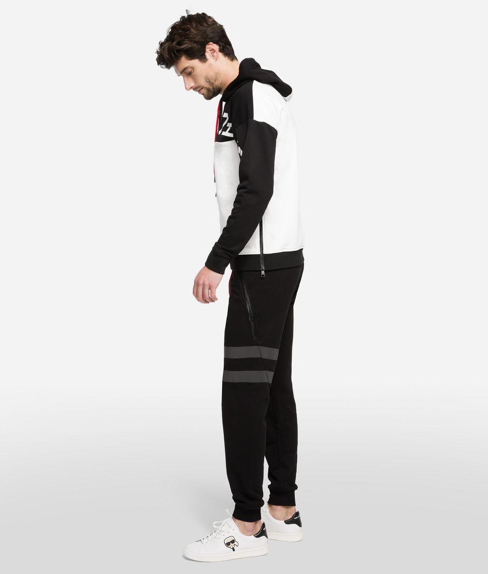 KARL LAGERFELD K/Tokyo Reflective Stripe Track Pants Pants Man d