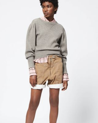 ISABEL MARANT ÉTOILE SHORTS Woman IROMI shorts r