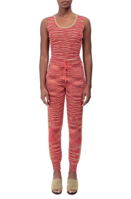 M MISSONI Pants Coral Woman - Back