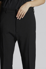 DSQUARED2 Wool Cady Dennis Pants Trousers Woman