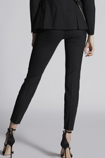 DSQUARED2 Tropical Weight Stretch Worsted Wool Nancy Pants Trousers Woman