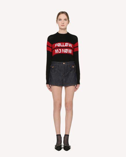 REDValentino Shorts Woman RR3DD00EKSC 518 f