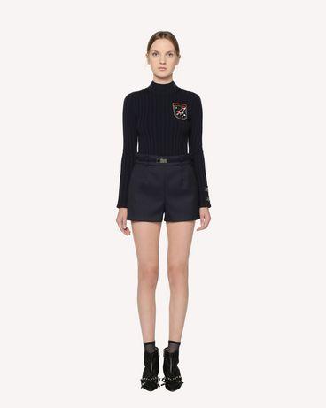 REDValentino RR3RFA701Y1 B01 Shorts Woman r