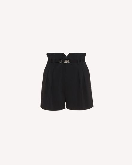 REDValentino Shorts Woman RR3RFA652EU 0NO a
