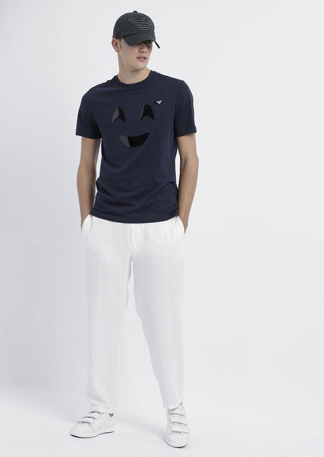 Pantalones chino de tencel con tacto de melocotón