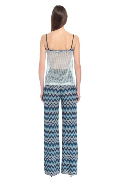 MISSONI Trouser Blue Woman - Front