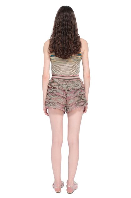 MISSONI Shorts Pink Woman - Front