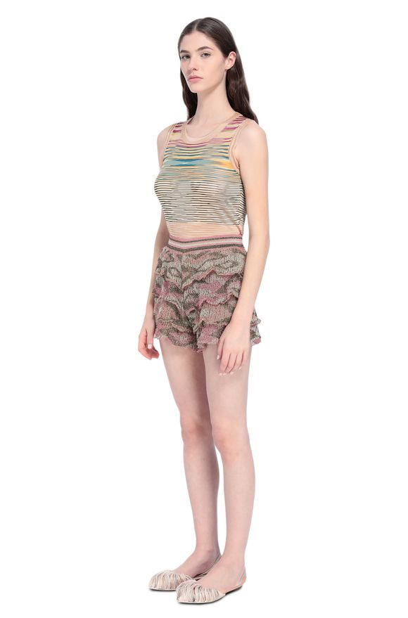 MISSONI Shorts Woman, Side view