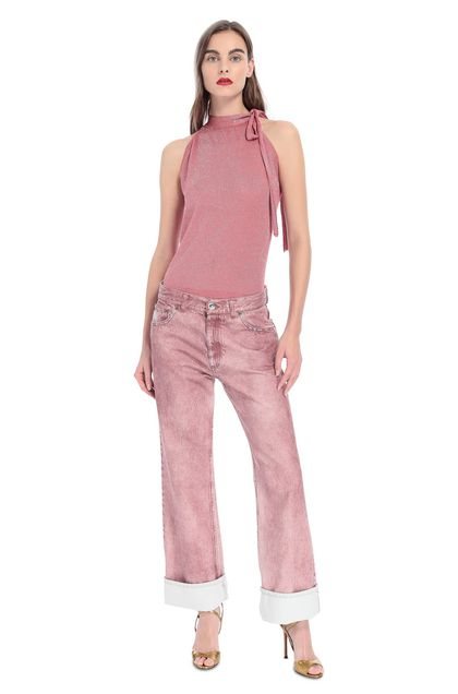 MISSONI Trouser Pink Woman - Back