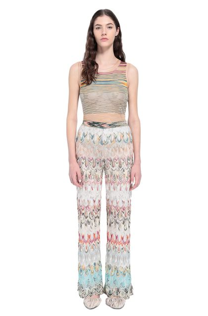 MISSONI Trouser Beige Woman - Back