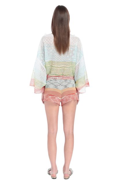 MISSONI Shorts Orange Woman - Front