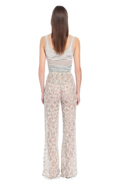 MISSONI Trouser Beige Woman - Front