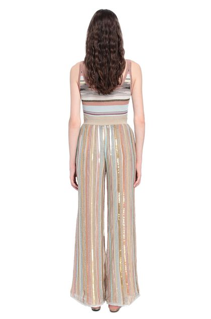MISSONI Trouser Gold Woman - Front