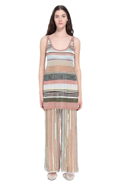 MISSONI Trouser Gold Woman - Back