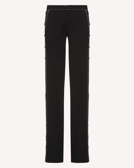 REDValentino Pants Woman RR3RBA30WBP 0NO a