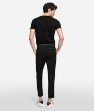 KARL LAGERFELD Wool Chinos with Side Stripe 9_f