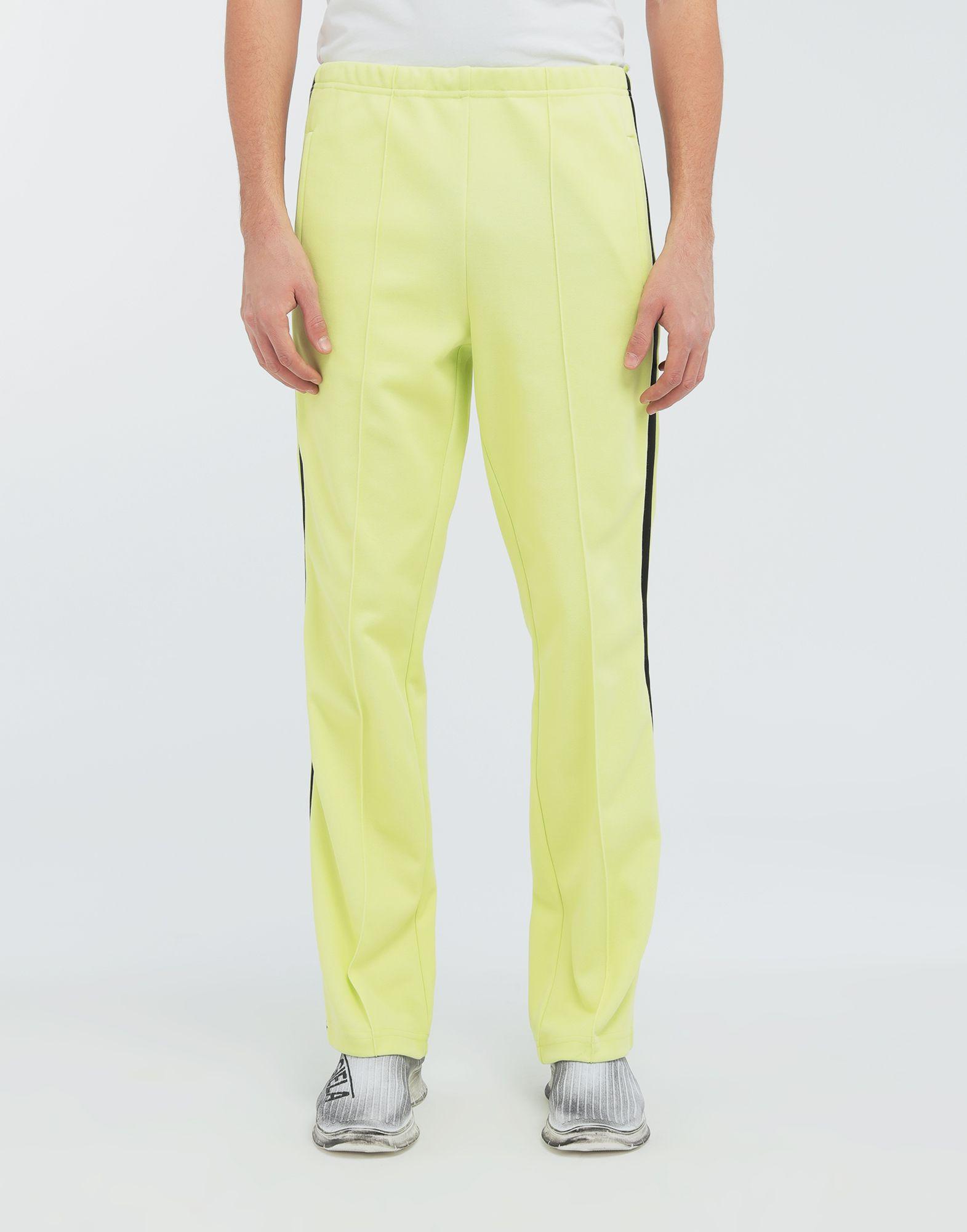 MAISON MARGIELA Poly-trimmed jersey pants Casual pants Man r