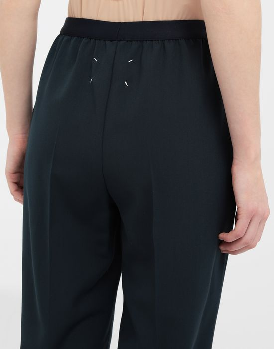 MAISON MARGIELA Pleated wool-blend pants Casual pants [*** pickupInStoreShipping_info ***] b
