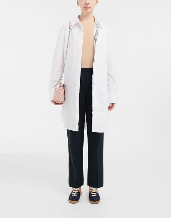 MAISON MARGIELA Pleated wool-blend pants Casual pants [*** pickupInStoreShipping_info ***] d