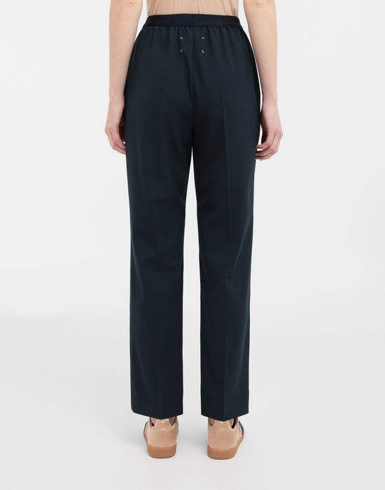 MAISON MARGIELA Pleated wool-blend pants Casual pants [*** pickupInStoreShipping_info ***] e