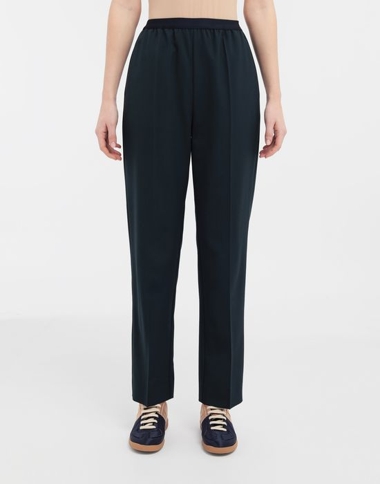 MAISON MARGIELA Pleated wool-blend pants Casual pants [*** pickupInStoreShipping_info ***] r