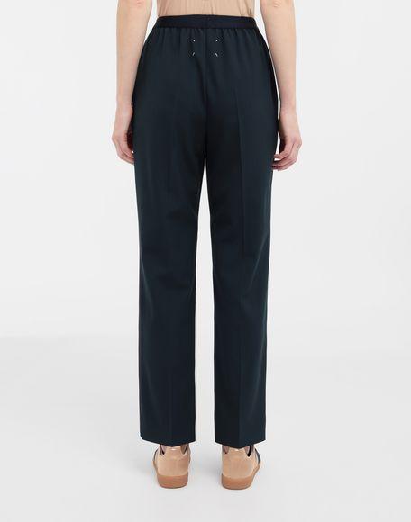 MAISON MARGIELA Pleated wool-blend pants Casual pants Woman e