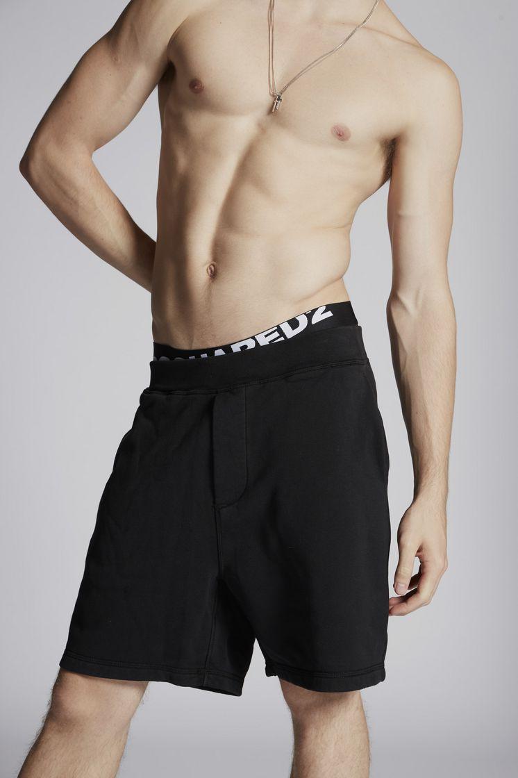 DSQUARED2 Brushed Cotton Fleece Shorts Shorts Man