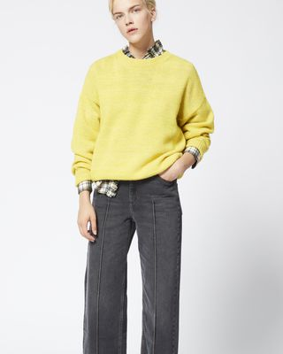 ISABEL MARANT ÉTOILE JEANS Woman CABRIA trousers r