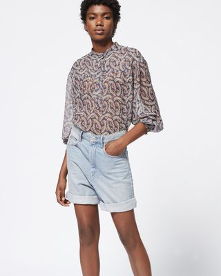 ISABEL MARANT ÉTOILE SHORTS Woman CINY shorts r