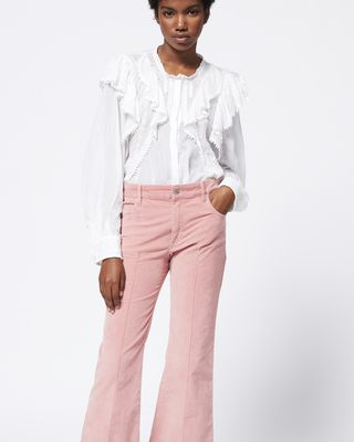 ISABEL MARANT ÉTOILE TROUSER Woman ANYREE trousers r