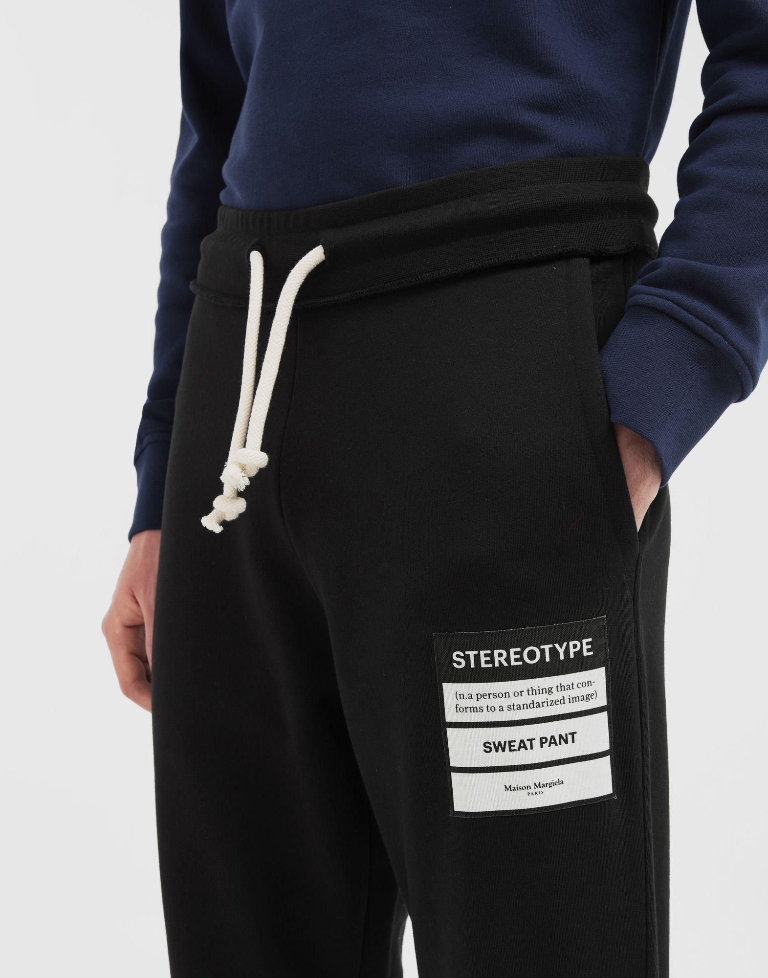 MAISON MARGIELA Stereotype jogging pants Casual pants Man a