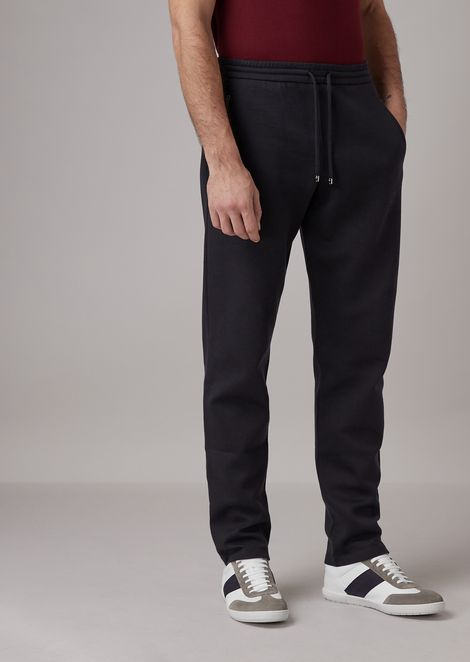 Jogging pants in double jersey