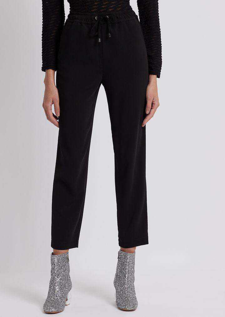8225572ef6 Drawstring-waist cady trousers