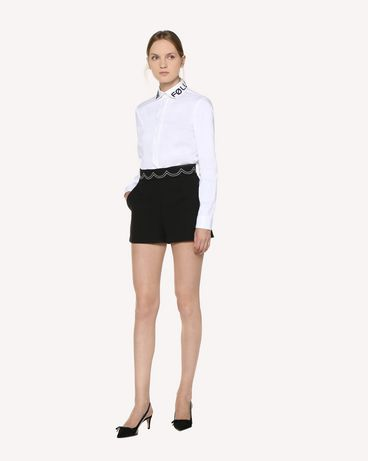 REDValentino RR3RFA750VM 0NO Shorts Woman d