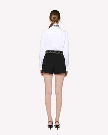 REDValentino RR3RFA750VM 0NO Shorts Woman r