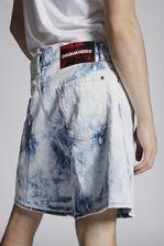 DSQUARED2 Shreaded Bleach Boxer Shorts Shorts Man