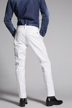 DSQUARED2 Stretch Twill Cotton Tidy Pants Trousers Man